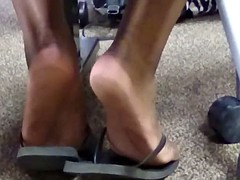 Candid Soles in College
