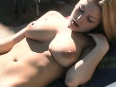 Perfect blonde with big tits fucks Rene from 1fuckdatecom
