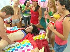Блондинки, Минет, Колледж, Общежитие, Секс без цензуры, Вечеринка, Студентка, Молоденькие
