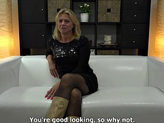 52-Year Old Blonde Czech MILF