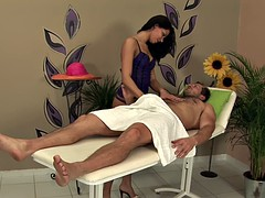 Young Lady Gives Nice Massage