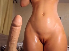 Fetish big ass hoe anally toys with vibrator in hd