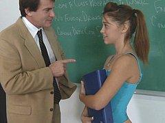 Collège université, Mignonne, Hard, Petite femme, Rousse roux, Élève, Maigrichonne, Étudiant