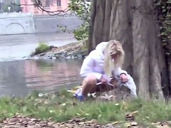 Babes Peeing Outdoor 1