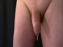 Prostate and furthermore balls massage. Pre-cum and furthermore hand furthermores free cum-shot