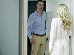 TUSHY Bosses Wife Karla Kush First Time Anal With The Office Assistant