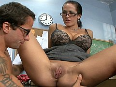 Carmella Bing is having sex with her students