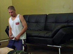 lifeguard Tommy gives her first blowjob