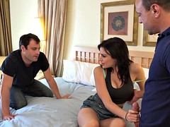 alexis blaze sharing a cock with her husband