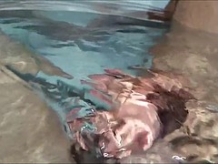 check out prepuce slow motion underwater