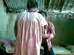 Non-professional Indian Couple Spy Cam