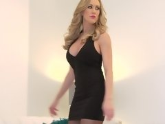 Brandi Love dresses up for her cougar date and gets laid