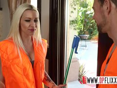 Digital Playground- Horny Workers Break Into A House To Fuck
