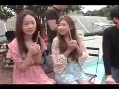 five Japanese Shrieking Deepthroat Tart's and Jizz (Uncensored)