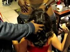 3 Black Guys To 1 Female