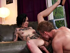 Leigh Raven - I suck your dick if you do not tell our dad
