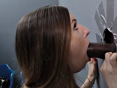 Big Black Cock For Stella Cox At The Famous Glory Hole