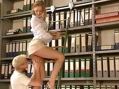 Girl Gets Fucked In The Office