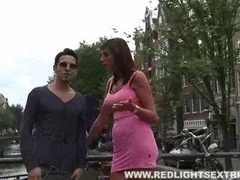 Lucio from Colombia hires a hooker in Amsterdam via redlightsextrips