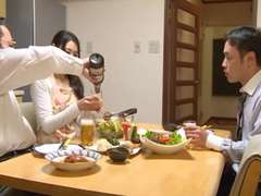 Asiatisch, Gehörnter ehemann, Japanische massage