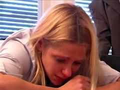STP1 Beautiful Schoolgirl Takes A Hard Beating !