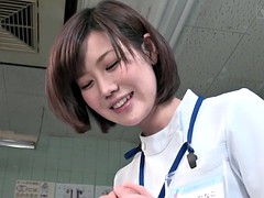 subtitled Japanese woman doctor gives cfnm handjob patients