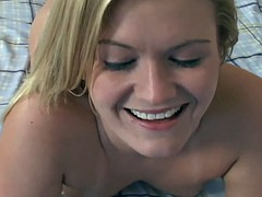 MILF gives a ride to orgasm