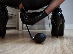 butt plug and boots