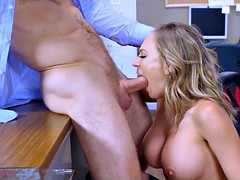 Cock Crazy Slutty Coworker