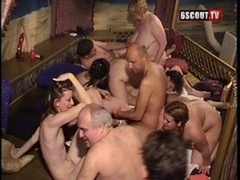 Hot Group orgy Party