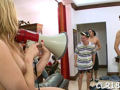 babe gets jizz in mouth clip segment 1