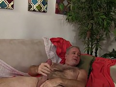 Busty fatty pounded in threesome action