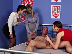 clothed dominas riding