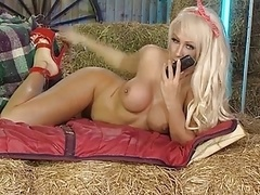 Lucy Summers back in the RLC Barn