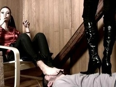 Female Feet and Shoes Domination