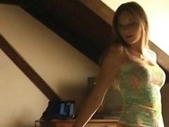 19 Yo Czech Student Lapdances Just For Me !