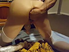 anal huge dildo