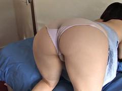 fullback panty ass tease