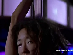 Sandra Oh nude - Dancing at the Blue Iguana - HD