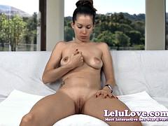 Lelu Love-Spitting Saliva Fingering Masturbation