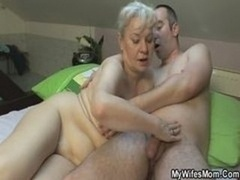 She Gives blowjob And furthermore Bangs Her Son In Law