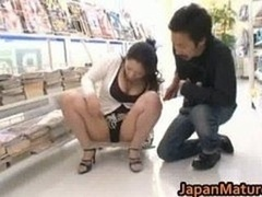 Ayane Asakura Oriental MILF has public sex part2