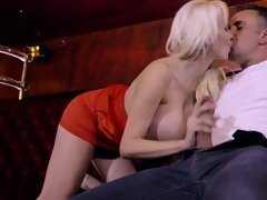 Hot well-rounded porn actress is able to bring man ecstasy