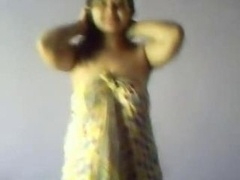 Indian super hot plumb Delhi coed with big jugs expose completely all