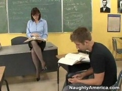 Sex in the classroom with the teacher