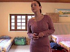Chambre à dormir, Mignonne, Gode, Européenne, Lesbienne, Fête, Réalité, Adolescente
