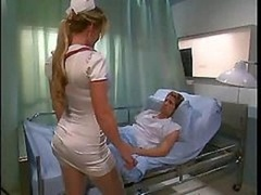 A couple of Hot Nurses Get down and dirty A Patient In The Hospital