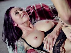 Nasty MILF Monique Alexander helps out her daughter's man when he's in need
