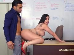 Fucking At The Job Interview Kitty Caprice