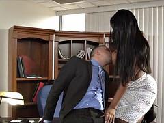 interracial office